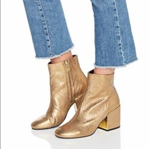 Kenneth Cole Reeve 2 Metallic Ankle Boots